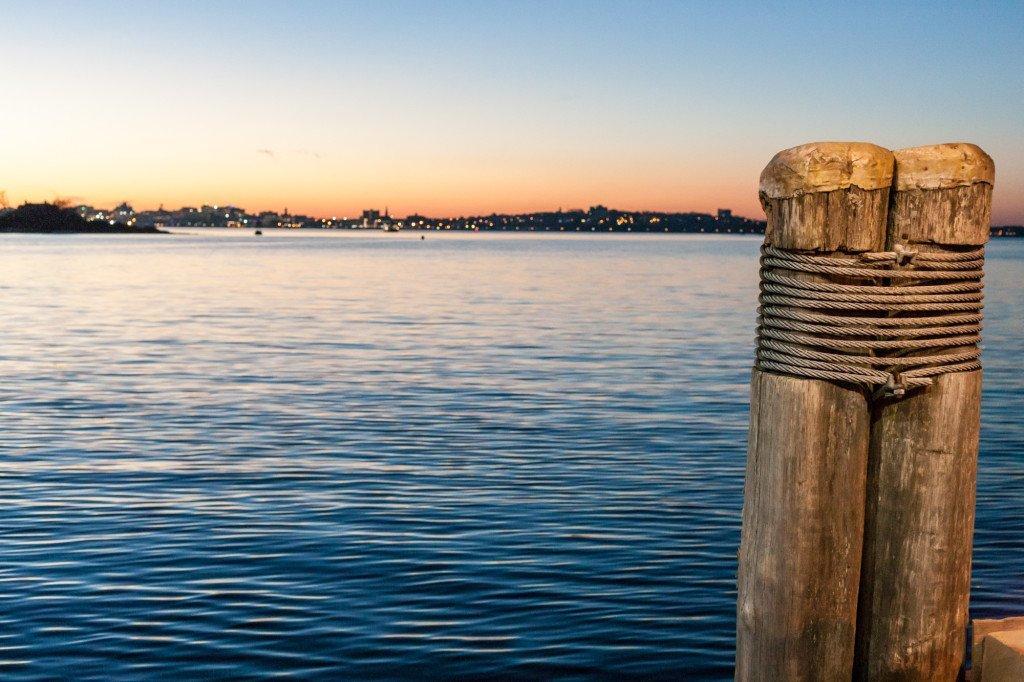 Dock Posts, Peaks Island, ME