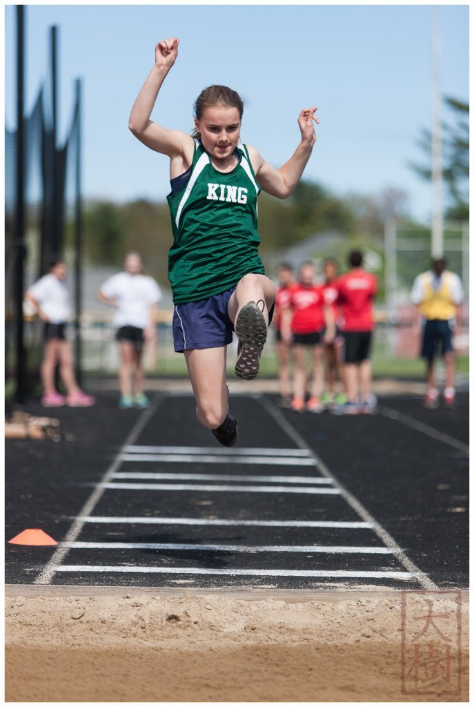 Long jump---nice form!